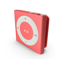 iPod Shuffle Red PNG & PSD Images