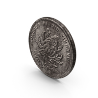 1 Yuan Coin Aged PNG & PSD Images