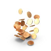 2 Pence UK Falling PNG & PSD Images