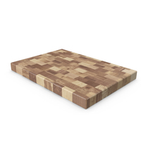 Butcher Block Chopping Board PNG & PSD Images