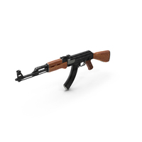 Assault Rifle AK-47 PNG & PSD Images