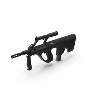Steyr Assault Rifle PNG & PSD Images