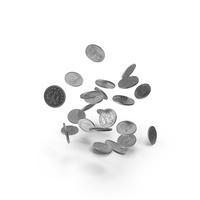 5 Pence UK Falling PNG & PSD Images