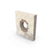Structural Impact in Sheetrock PNG & PSD Images