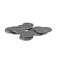 50 Pence Stack PNG & PSD Images