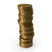 German 20 Cent Euro Coin Stack PNG & PSD Images