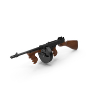 Tommy Gun PNG & PSD Images