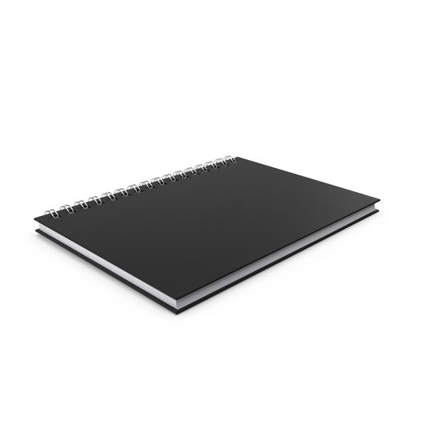 Ringed Sketchbook PNG & PSD Images