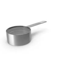 Steel Measuring Cup PNG & PSD Images