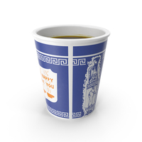 Greek Coffee Cup PNG & PSD Images