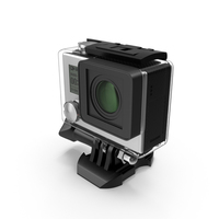 Accessorized Action Sports Digital Camera PNG & PSD Images