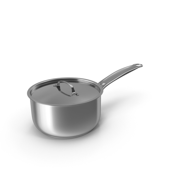 Stainless Steel Pot PNG & PSD Images