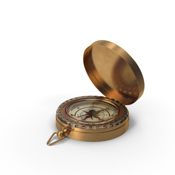 Vintage Compass Open PNG & PSD Images
