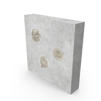 Bullet Hole Impacts Concrete PNG & PSD Images
