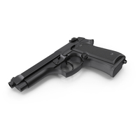 Semi-Automatic Pistol PNG & PSD Images