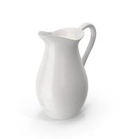 Porcelain Carafe of Milk PNG & PSD Images
