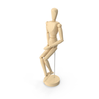 Wooden Mannequin PNG & PSD Images
