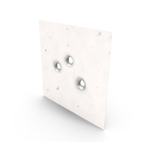 Bullet Holes in Metal PNG & PSD Images