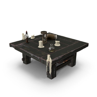 Fantasy Table PNG & PSD Images