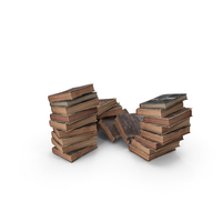 Fantasy Book Pile PNG & PSD Images