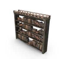 Fantasy Book Shelf PNG & PSD Images