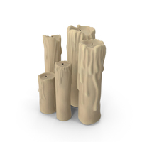 Candle Sticks PNG & PSD Images