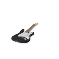 Fender Stratocaster Electric Guitar PNG & PSD Images