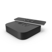 Apple TV and Remote PNG & PSD Images