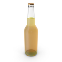 Clear Beer Bottle PNG & PSD Images
