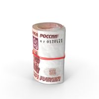 Roll of 5000 Ruble PNG & PSD Images