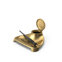 Bronze Inkstand PNG & PSD Images