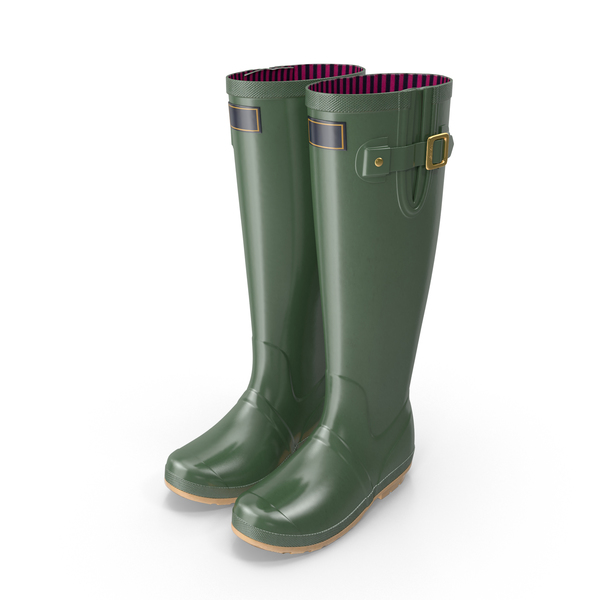Adult Rain Boots PNG & PSD Images