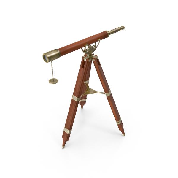 Antique Telescope PNG & PSD Images