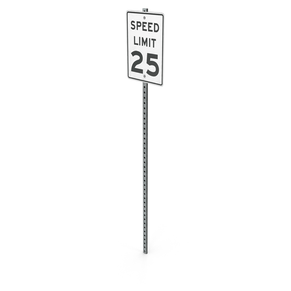 Speed Limit Sign PNG & PSD Images