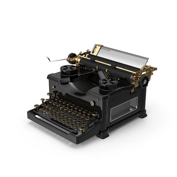 Vintage Typewriter PNG & PSD Images