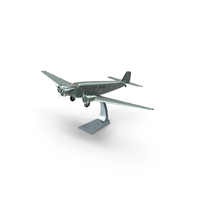 Plane Model on a Stand PNG & PSD Images