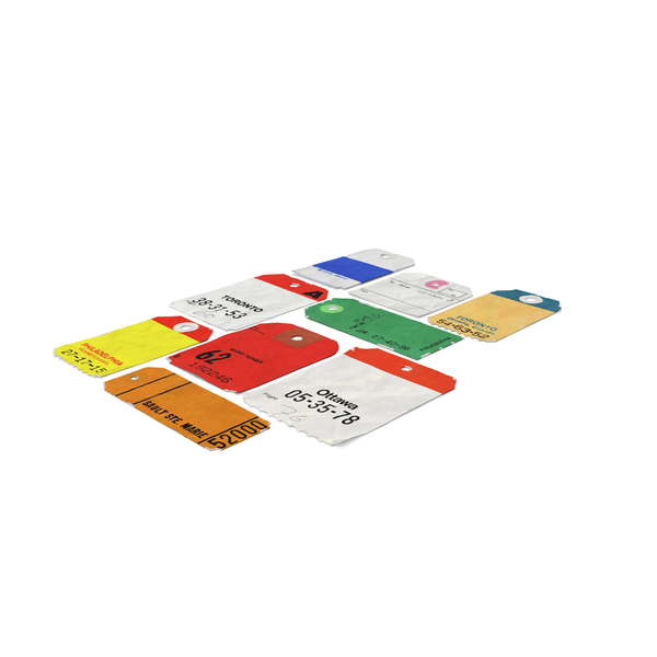 Luggage Tags PNG & PSD Images