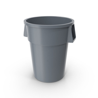 Plastic Garbage Can PNG & PSD Images