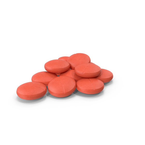 Round Pills PNG & PSD Images