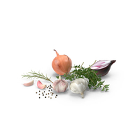 Fresh Cooking Ingredients PNG & PSD Images