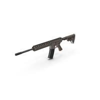 AR15 Assault Rifle PNG & PSD Images