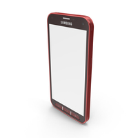 Samsung Galaxy S5 Sport Red PNG & PSD Images