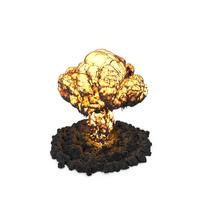 Mushroom Cloud Explosion PNG & PSD Images