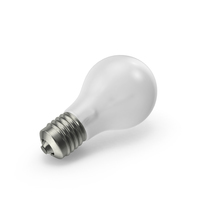Matte Light Bulb Object