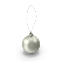 Round Christmas Ornament Object
