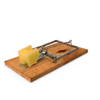 Mousetrap With Cheese PNG & PSD Images