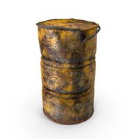 Destroyed Radioactive Barrel PNG & PSD Images