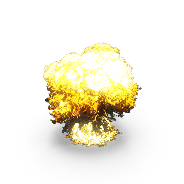 Large Explosion PNG & PSD Images