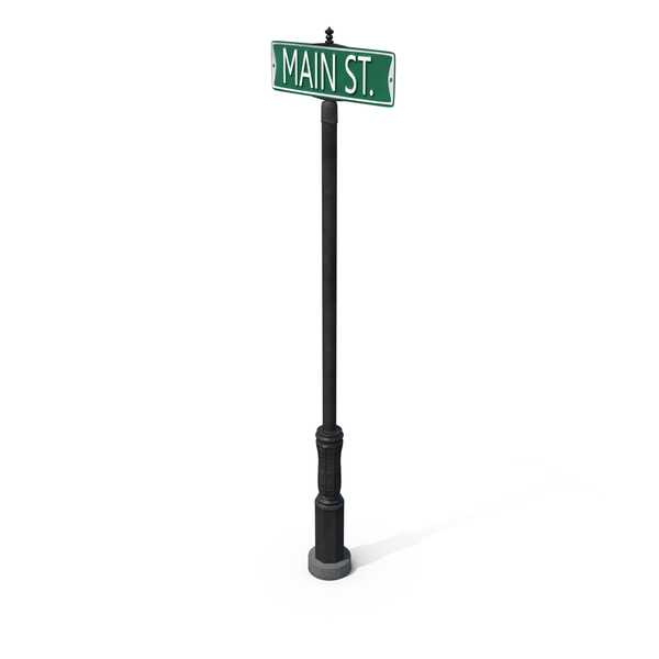 Main Street Name PNG & PSD Images