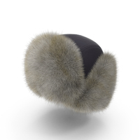 Trapper Hat With Flaps Up PNG & PSD Images